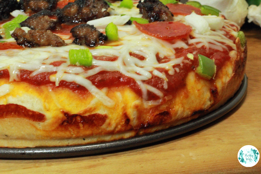 Deep Dish Pizza Crust Recipe
