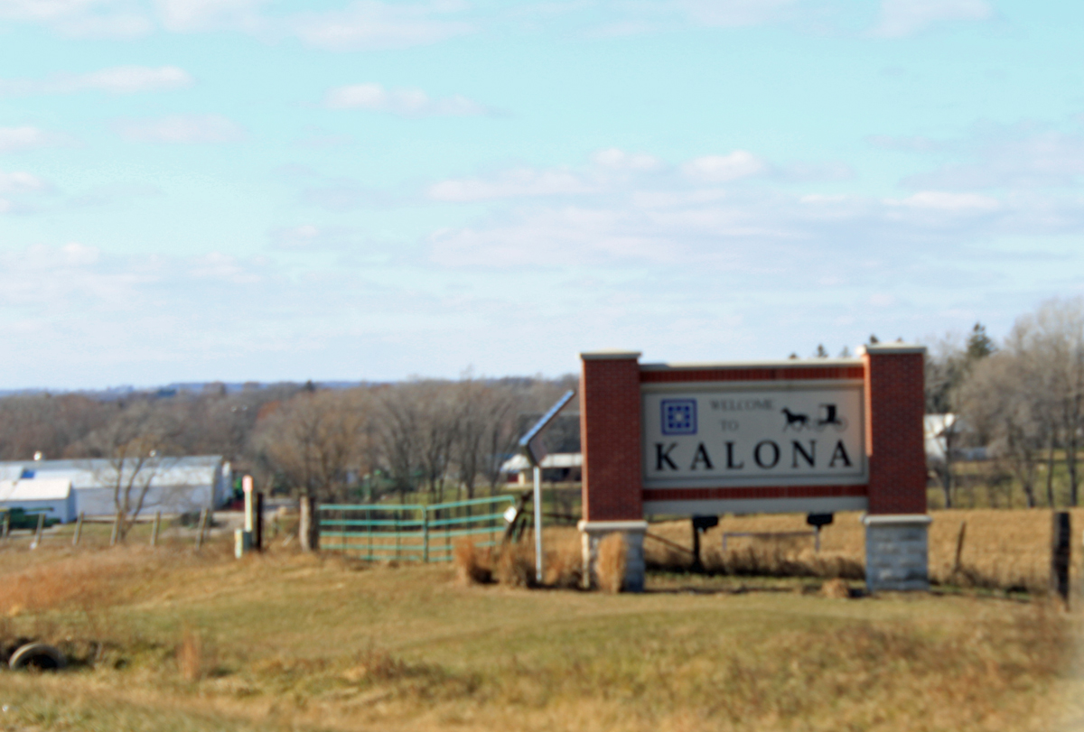 Visiting the Amish town of Kalona, Iowa