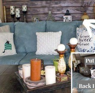 DIY Sofa Table Tutorial