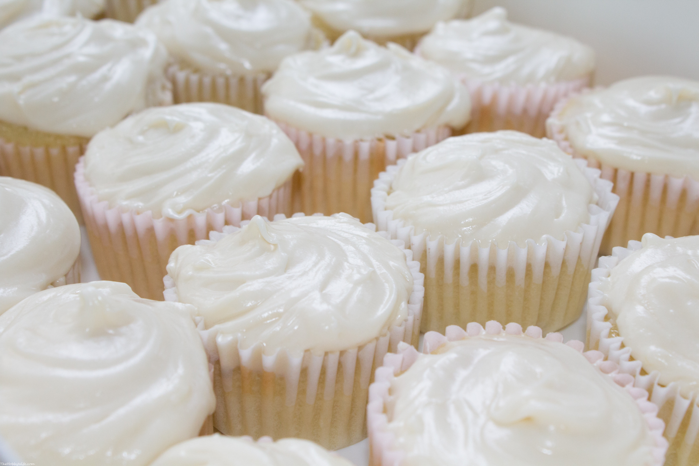 Scratch Vanilla Cupcakes
